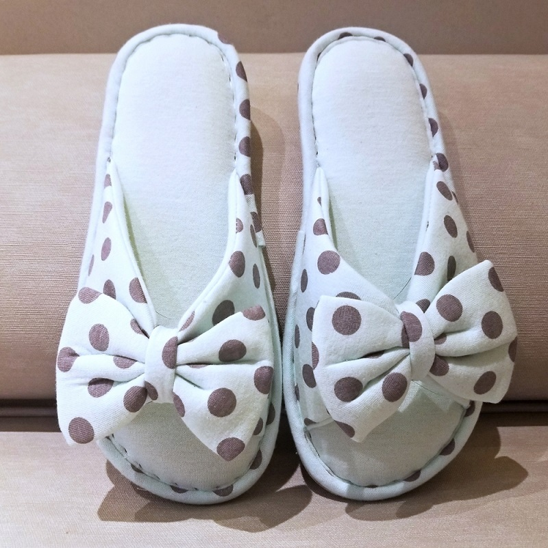 Dotted Slippers